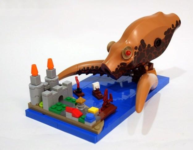 LEGO Kraken