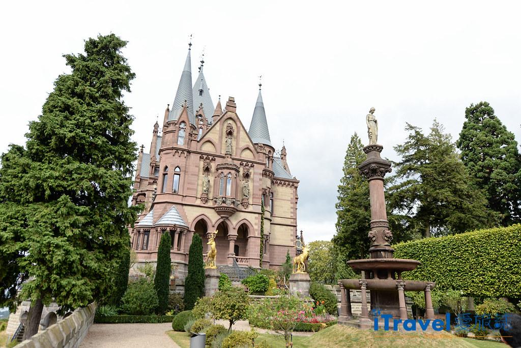 德國克尼格斯溫特爾景點 龍岩堡Schloss Drachenburg (1)