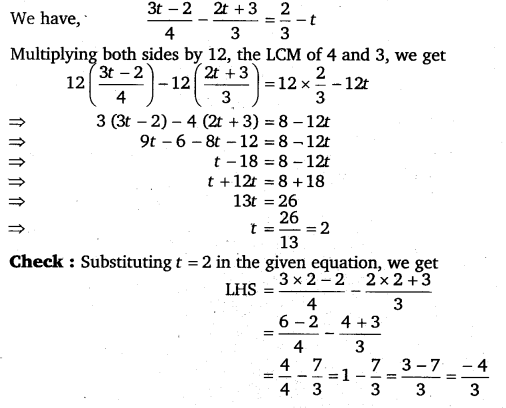 NCERT Solutions for Class 8 Maths Chapter 2 Linear Equations In One Variable 59