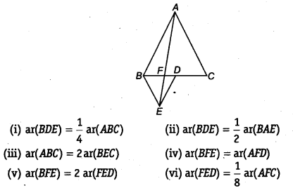 NCERT Solutions for Class 9 Maths Chapter 10 Areas of Parallelograms and Triangles 10.4 5