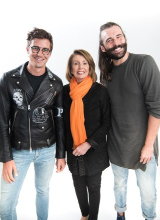 JVN and Nancy Pelosi at Bentzen Ball 2018 - Jeff Martin-9626