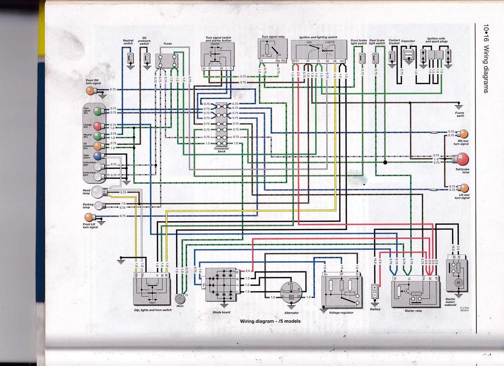 Bmw R75 5 Wiring Diagram Wiring Diagram