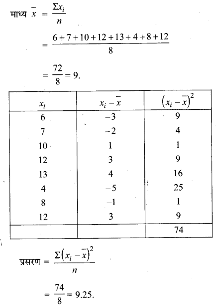 UP Board Solutions for Class 11 Maths Chapter 15 Statistics 15.2 1