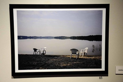 Andreas Nilssons vinnande bild årets tema juryns val – Yddinge strands flyktingboende