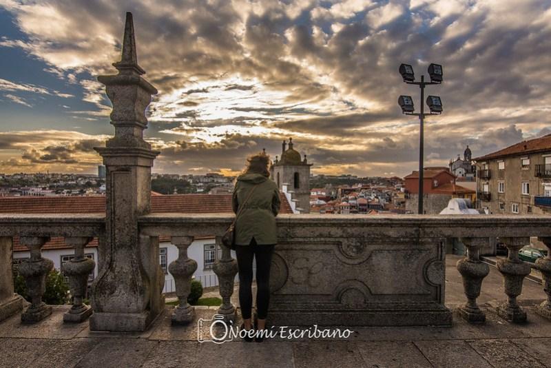 Vistas desde la plaza Catedral de la Sé