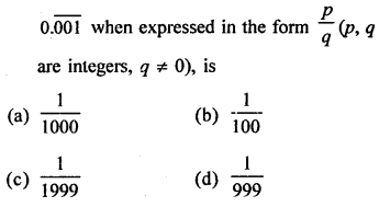 RD Sharma Mathematics Class 9 Solutions Chapter 1 Number System