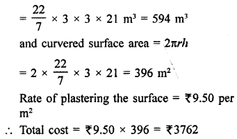RD Sharma Book Class 9 PDF Free Download Chapter 19 Surface Areas and Volume of a Circular Cylinder