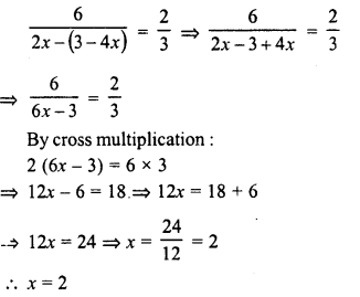 RD Sharma Class 8 Solutions Chapter 9 Linear Equations in One Variable Ex 9.3 - 10a