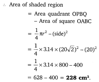 NCERT Solutions for Class 10 Maths Chapter 12 Areas Related to Circles 60