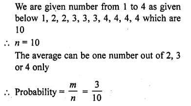 RD Sharma Class 10 Solutions Chapter 16 Probability Ex 16.1 24