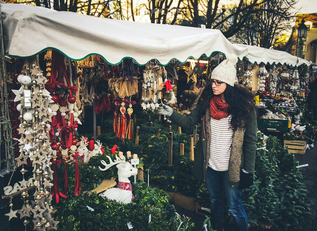 Viktualienmarkt | Mercadillo de Navidad de Múnich