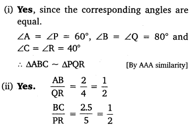 NCERT Solutions for Class 10 Maths Chapter 6 Triangles 22