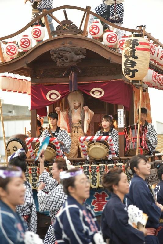 総踊り 佐倉の秋祭り 22