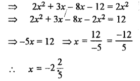 Selina Concise Mathematics class 7 ICSE Solutions - Simple Linear Equations (Including Word Problems) -b18..