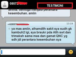 testimoni atau kesakian QnC Jelly Gamat