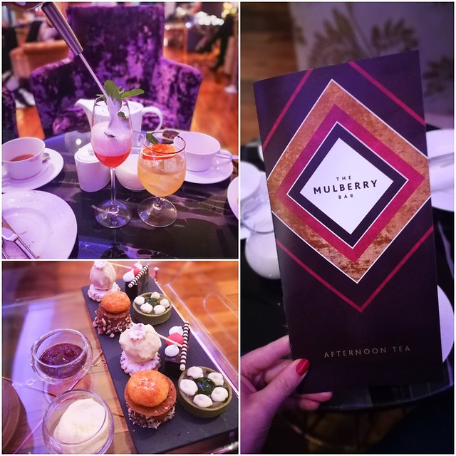 Mulberry Bar Afternoon Tea