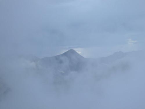 Mountain Through the Clouds