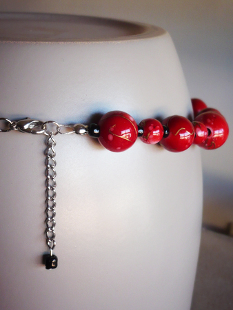 #175 - Red beads