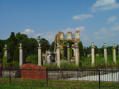 Ruins color -Holliday Park, Indy