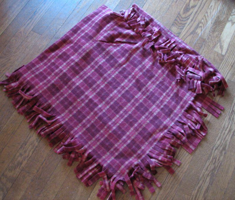 No-sew fleece babywearing poncho ver. 2.5 | BWI of Birmingham blog ...