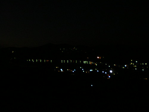 Yamanakako at night