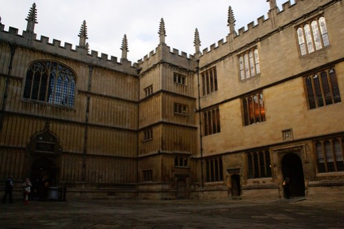 Divinity School and Duke Humphrey's Library, Oxford