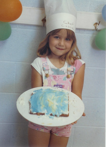 Me - Age 5 - At a Birthday Party