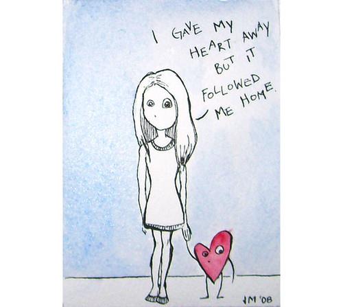 Sad Girl no.1 por mixeduppainter.