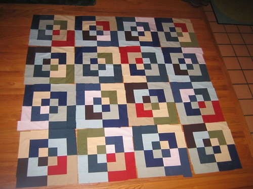 Bento Quilt Getting There