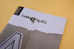 portada de iconographic 01 por iconographic magazine