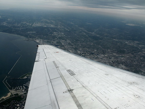 Somewhere Over Milwaukee, May 2008, Milwaukee, Wisconsin, photo © 2008 by QuoinMonkey. All rights reserved.