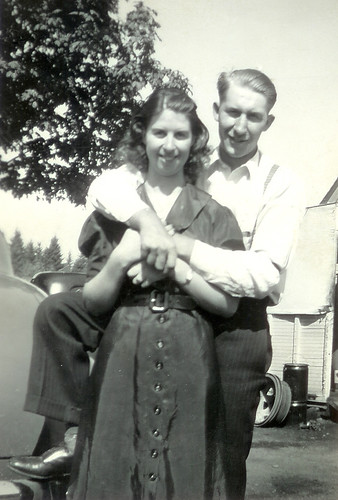 Dorothy and Jim Johnson Sr. by you.