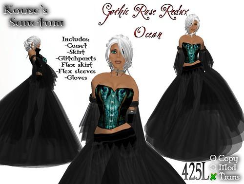 Gothic Rose Redux Ocean