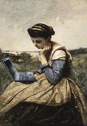 Solar-Powered Laptop