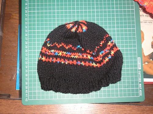 First fair isle cap