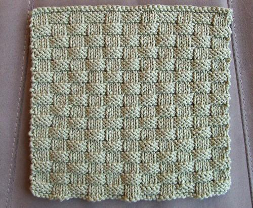 BasketWeave Washcloth | MeTyme Patterns