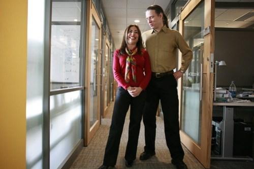 Jennifer Chayes and Christian Borgs, Microsoft Researchers