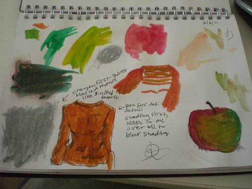 watercolour practise 1