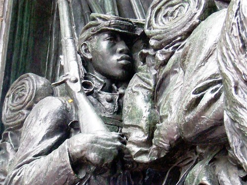 Robert Gould Shaw Monument by Patrick M