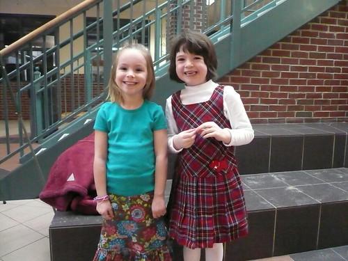 Chloe and Ella
