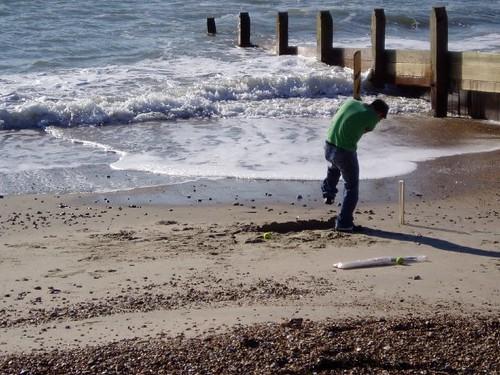 Sea defences failing