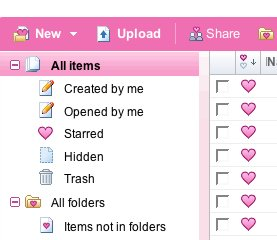 My Google Docs is Valentine'd