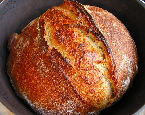 Norwich Sourdough Boule baked in Dutch Oven | At Home In ...