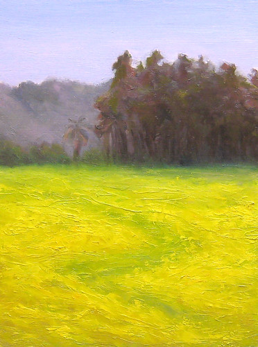 Mustard Grass meadow