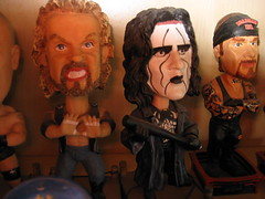 some Kiss bobble heads