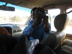 Bouba filming