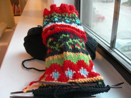 Composed Mitts