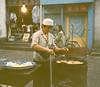 Hui food vendor, Xian, China