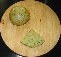 Missi Roti 1(Gujarat) batter मिस्सी रोटी