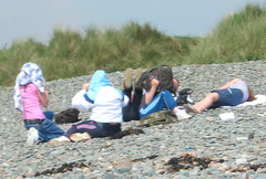 Junior Chavs on the Beach